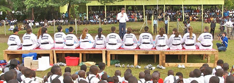 Kenyan community meets Champion Taekwondo Toronto